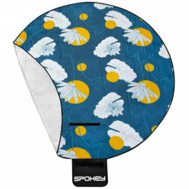 Patura pentru picnic rotunda captusita cu aluminiu Spokey diametru 180 cm - OUTMA.926779
