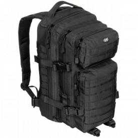 Rucsac modular Assault, 30 litri, multiple buzunare, compatibil sistem hidratare, negru MFH - OUTMA.30333A