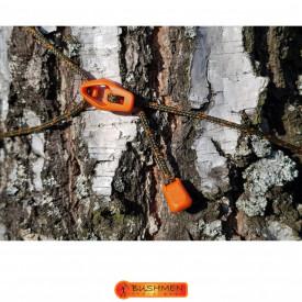 Set cordeline de tensionare ultralight Bushmen Orange - 5902194521437