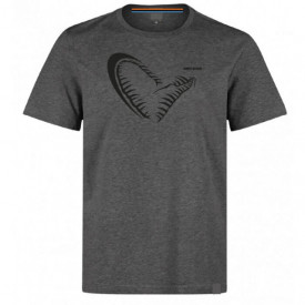 Tricou Savage Gear Savage Jaw Grey