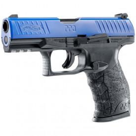 Pistol Airsoft Co2 Umarex Walther PPQ M2 T4E LE CAL.43 CO2 Blue 4J - VU.2.4761