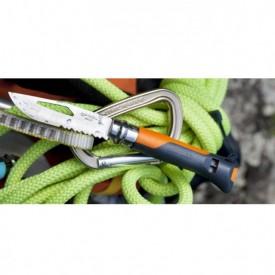 Briceag Opinel Nr.08 Inox Outdoor Portocaliu, lama 8.5cm - 001577