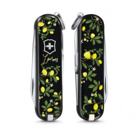 Briceag Victorinox Classic When Life Gives you Lemons - 0.6223.L1905 - Limited Edition 2019