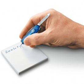 Briceag Victorinox Signature, albastru transparent - 0.6225.T2