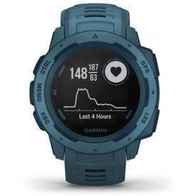 Ceas Garmin Instinct GPS Lakeside Blue - HG.010.02064.04 cardiograma