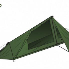 Cort 1 Persoana DD SuperLight –Tarp Tent - 0707273933737