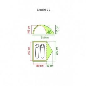 Cort Coleman Crestline 2 pers - 802085