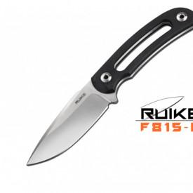 Cutit de outdoor Ruike F815 maner negru - Lama 9cm