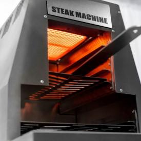 Gratar pe gaz cu arzator infrarosu Activa Steak Machine - 12900A aprins