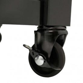 Gratar pe gaz din inox Char-Broil Professional 3500 Black Edition TRU-Infrared - 140899  roata