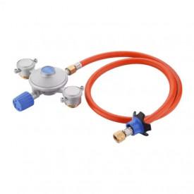 Kit regulator gaz pentru cartuse cu insurubare Dual Power Pak Cadac - 346-10-EU