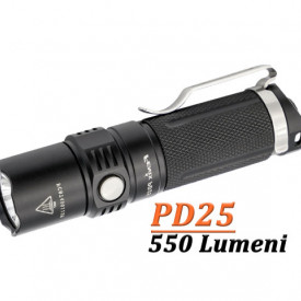 Lanterna Fenix PD25 550 lumeni 130 Metri