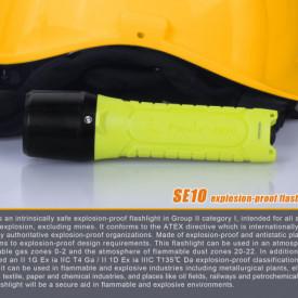 Lanterna Fenix SE10 - Lanterna ATEX - 100 lumeni 160 metri 2