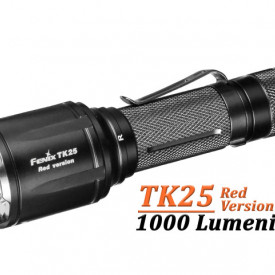 Lanterna Fenix TK25 - Versiune Red - 1000 Lumeni 225 Metri
