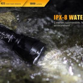 Lanterna Fenix TK32 - Editie 2016 - 1000 lumeni 422 metri ipx