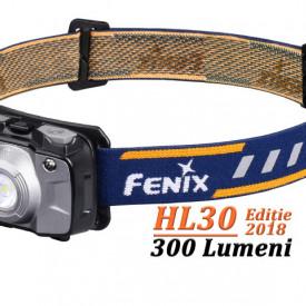 Lanterna frontala Fenix HL30 300 lumeni 50 metri