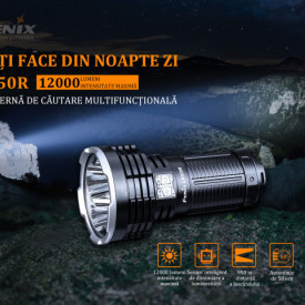 Lanterna Profesionala Fenix LR50R -12000 Lumeni - 950 Metri - ADV-437-001 3