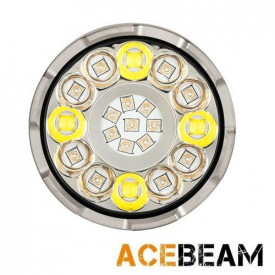 Lanterna tactica profesionala UV Acebeam X80-UV, 10000 lumeni, 224 m
