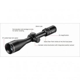 Luneta de arma pentru vanatoare Minox Riflescope 3 15X56 - VM.80107664