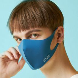 Masca textila reutilizabila cu tratament antiviral Classic Blue M 1