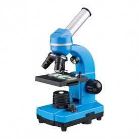 Microscop optic Bresser Junior Student Biolux SEL, albastru - 8855600WXH000