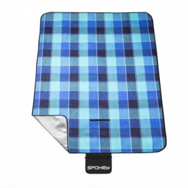 Patura picnic impermeabila Spokey Flannel, captusita cu aluminiu 150x180 cm - OUTMA.839636