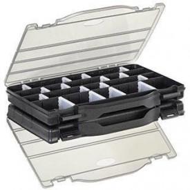 Set 2 Cutii Plastica Panaro compartimente ajustabile - 276x186x59mm - A4.P396