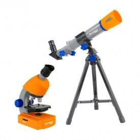 Set microscop si telescop Bresser Junior - 8850900