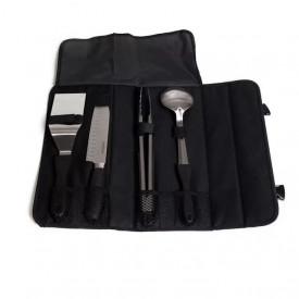 Set profesional de 4 unelte pentru gatit la gratar cu husa transport Camp Chef - CC-KSET5