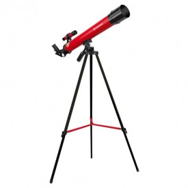 Telescop refractor Bresser Junior 45/600 AZ rosu - 8850600E8G000