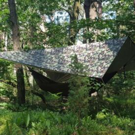 Tenda Bushmen Thermo Tarp 3x3 Camo - 5902194521314