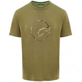 Tricou Korda Le Distressed Logo Tee Olive