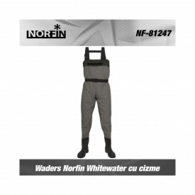 Waders Norfin Whitewater cu cizme