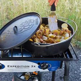 Ceaun din fonta cu capac - cuptor olandez Camp Chef 41 cm 11 litri - CC-SDO16 3