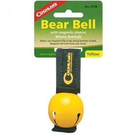 Clopotel galben Coghlans pentru avertizarea animalelor - C0758