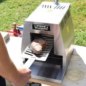 Gratar pe gaz cu arzator infrarosu Activa Steak Machine - 12900A cu friptura