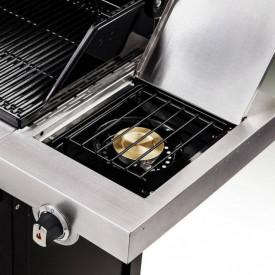 Gratar pe gaz din inox Char-Broil Professional 3400S - 140736 arzator lateral