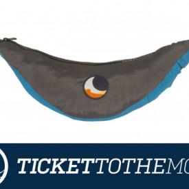 Hamac Ticket to the Moon King Size Aqua Dark Grey - TMK1503