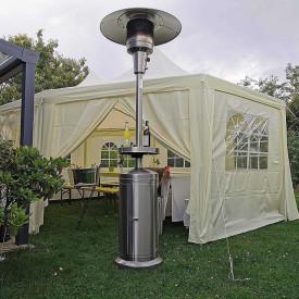 Incalzitor de terasa din inox comercial Brolly High End 13 Kw masa cu LED Activa 13950 6