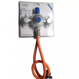 Kit regulator gaz pentru cartuse cu insurubare Dual Power Pak Cadac - 346-10-EU 2