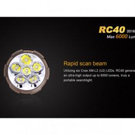 Lanterna Fenix RC40 - 6000 Lumeni - 730 Metri - Editie 2016 3