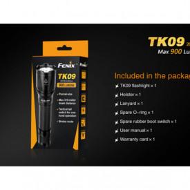 Lanterna Fenix TK09 - Editie 2016 - 900 lumeni 310 metri pachet