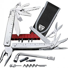 Patent Multifunctional Victorinox Swiss Tool X Plus cu Teaca Nylon - 3.0338.N