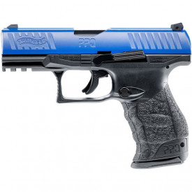 Pistol Airsoft Co2 Umarex Walther PPQ M2 T4E LE CAL.43 CO2 Blue 4J - VU.2.4761 lateral stanga