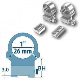 Prindere Arw pentru luneta 26mm pentru Argo D=26mm/H=17,5mm