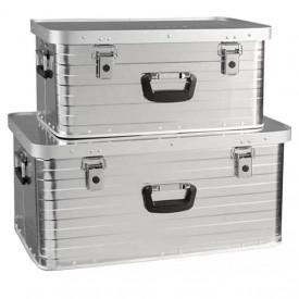 Set 2 cutii de aluminiu pentru depozitare 80 litri si 47 litri Enders Toronto 3902