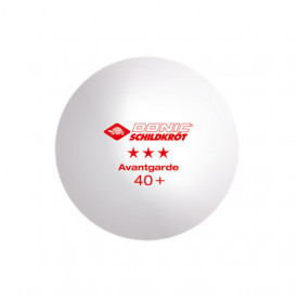 Set 3 mingi tenis de masa Donic-Schildkröt - Avantgarde, poly 40+ - 608334