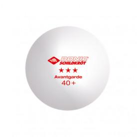 Set 3 mingii tenis de masa Donic-Schildkröt - Avantgarde, poly 40+ - 608334