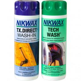 Set Nikwax Detergent si Solutie impermeabilizat pentru imbracaminte