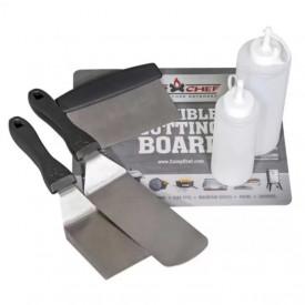 Set profesional de spatule pentru gratar si plancha Camp Chef - CC-SPSET6